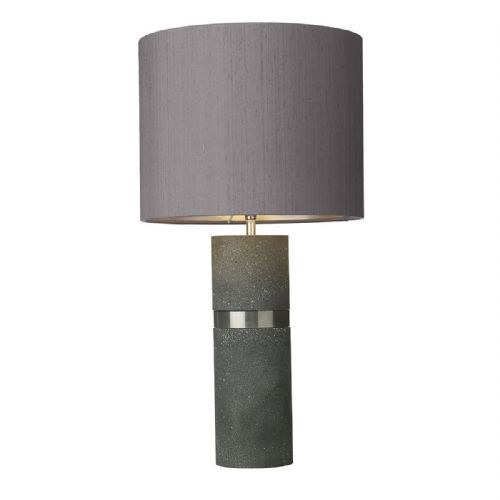 Band Table Lamp Grey Base Only (Hand made, 7-10 day Delivery)